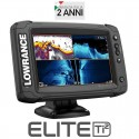 Lowrance Elite 7 Ti2 con Hi/Mi Downscan