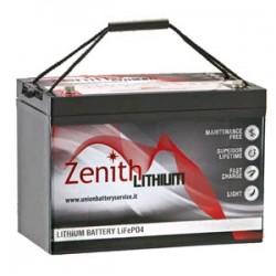 Batteria Litio LiFePO4 24v 50Ah ZLI024035
