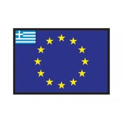 Bandiera Grecia UE