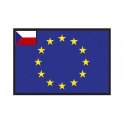 Bandiera Repubblica Ceca UE