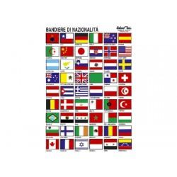 Tabella Adesiva Bandiere Nazionali