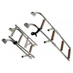 Scalette Inox e Legno Standard