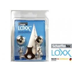 2 Bottoni Loxx - Tenax in Blister