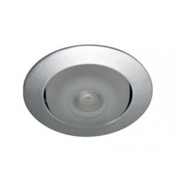 Spot Satin Swivel Power LED 12V