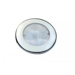 Luce Impermeabile LED Round Flush Inox