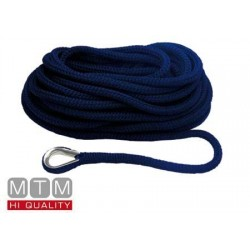 Treccia Mooring Blue Navy con Redancia