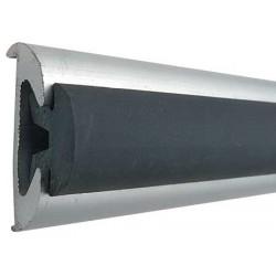 Bottazzo Profilo Parabordo con Supporto in Alluminio Anodizzato