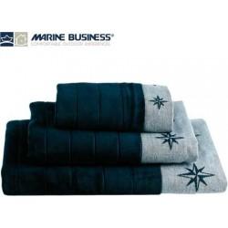 Set 3 Asciugamani Blue Navy