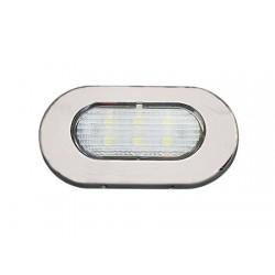 Luce Impermeabile LED Elliptic Top Inox