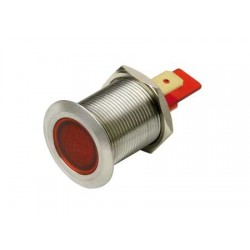 Spie LED Inox 19MM 12V